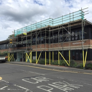 Commercial scaffolding in Marlow by Connect Scaffolding Services