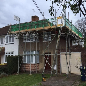 domestic scaffolding in oxford by Connect Scaffolding Services