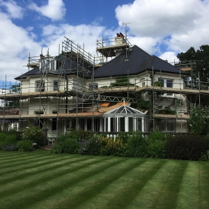 Domestic scaffolding by Connect Scaffolding Services of Thame
