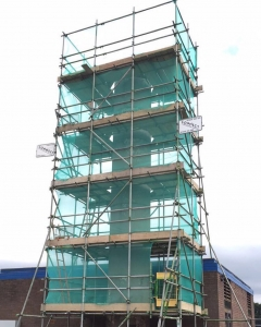 Specialist scaffolding in Chesham by Connect Scaffolding Services