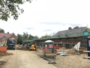 11 houses at Weston Turville
