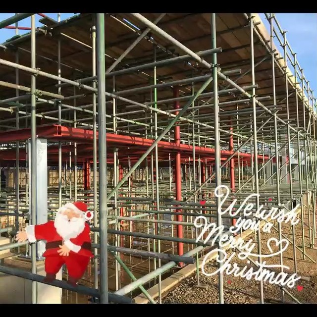 Merry Christmas and a Happy New Year from everyone at Connect Scaffolding 🔧🎄