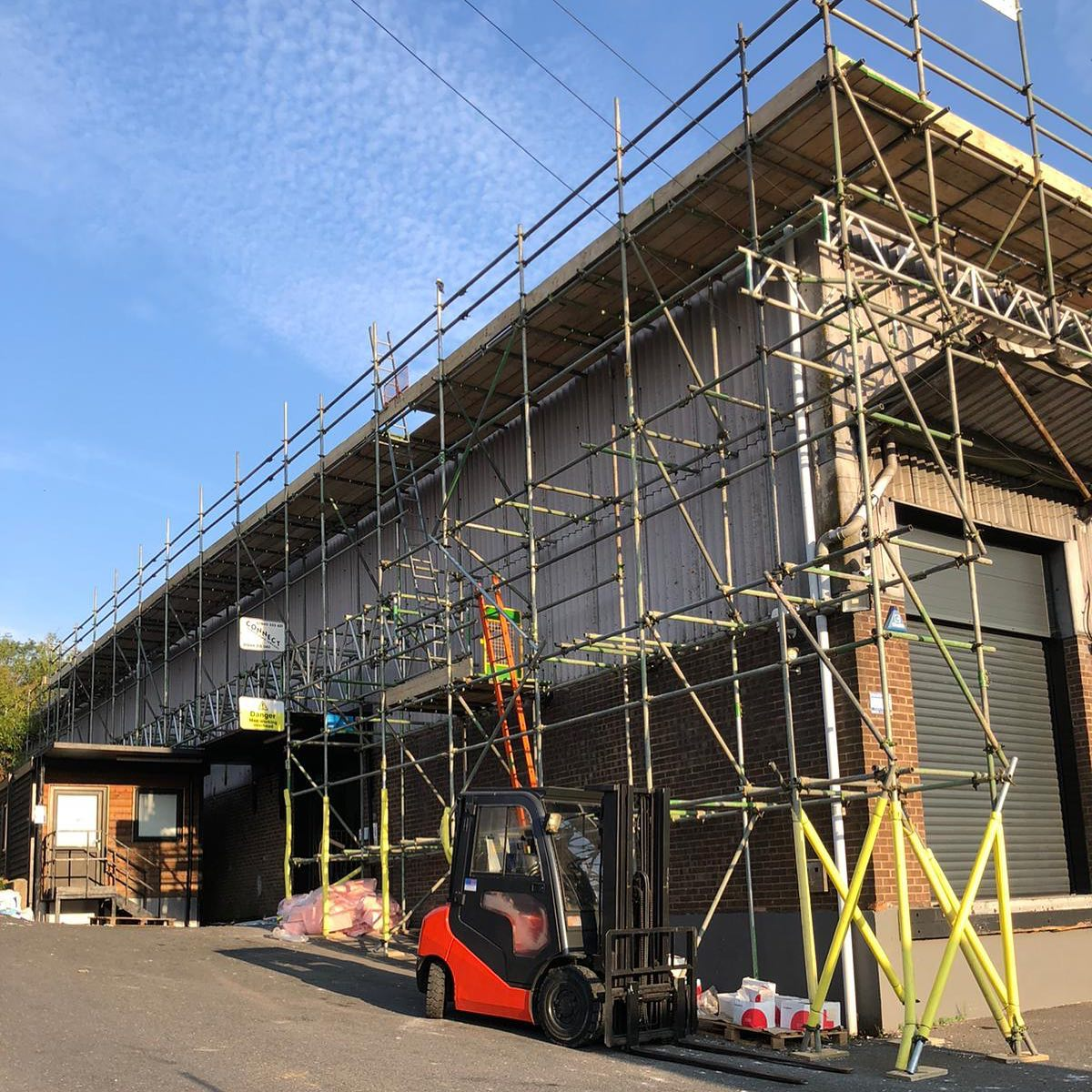 High Wycombe #scaffolding #scaffold #scaffolder #connect #connectscaffolding #scafflife #construction #industry #instagood