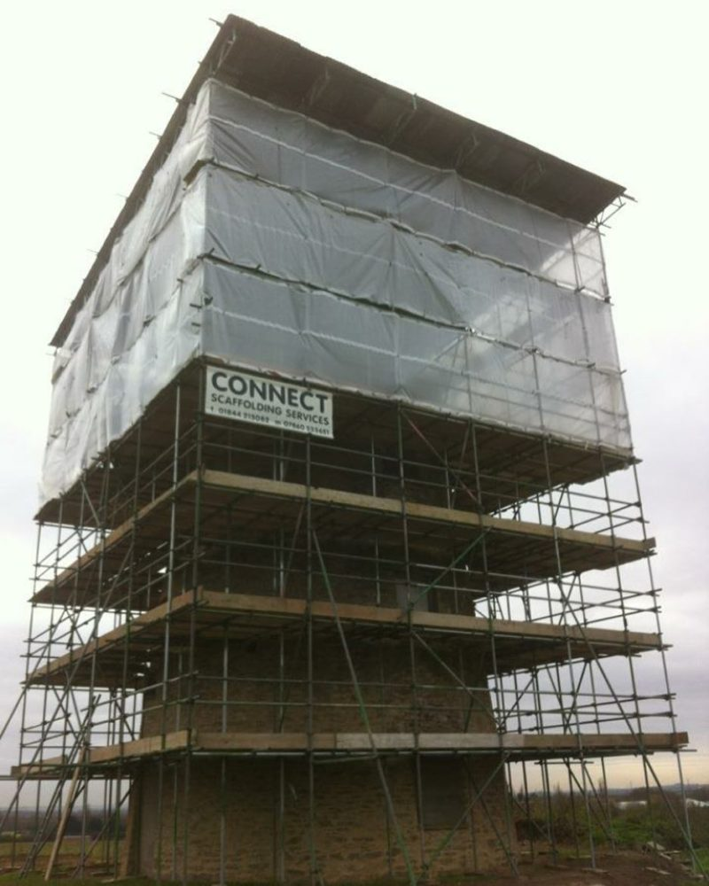 Specialist scaffolding in Great Milton by Connect Scaffolding Services