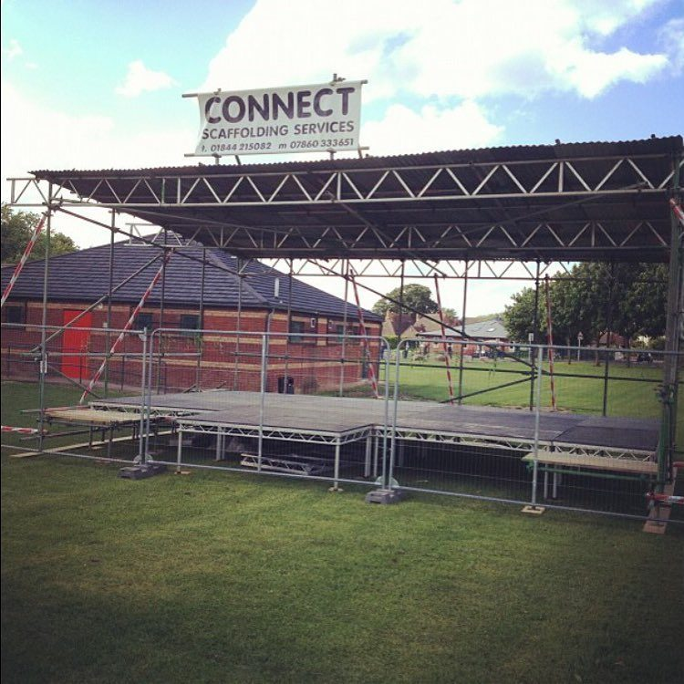 event scaffolding by Connect Scaffolding Services in Thame